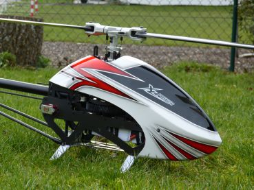 XLpower - Specter 700 World Champion Edition - Kit Ohne Blätter - Weiss-Rote Haube